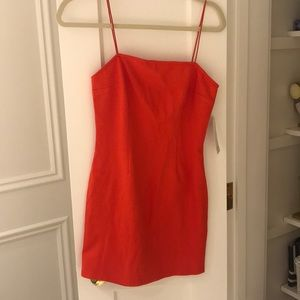 RED BODYCON DRESS NEW W TAGS MED/SMALL (2)